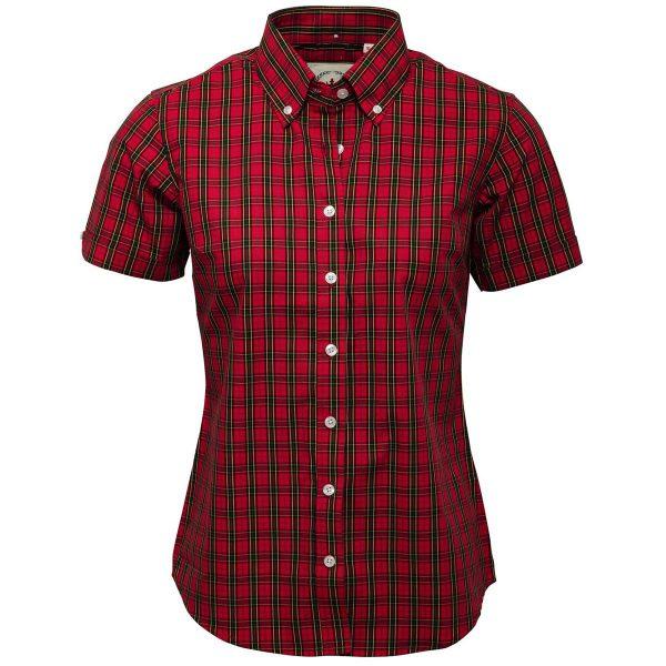 Camisa Tartan Roja