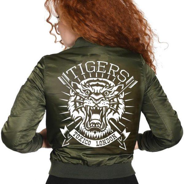 Chaqueta Bomber Toxico Tigers