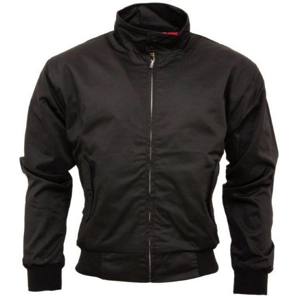 Chaqueta Harrington Black