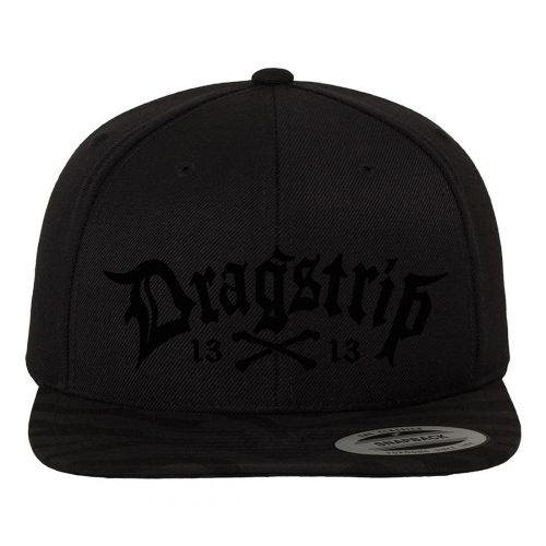 Gorra Dragstrip Kustom Black Original
