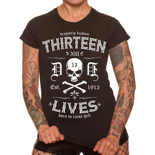 Camiseta Dragstrip Kustom 13