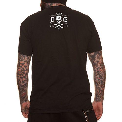 Camiseta Dragstrip 13 Lives Black