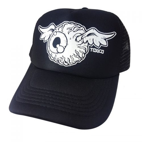 Gorra Toxico Flying Eye Black