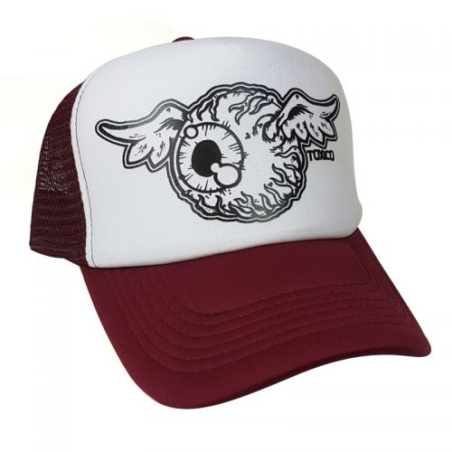 Gorra Toxico Flying Eye Red