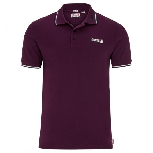 Polo Lonsdale Lion Oxblood