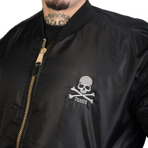 Chaqueta Bomber Skull & Bones